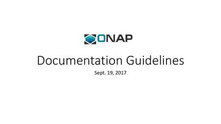 API Documentation Guidelines - ppt download