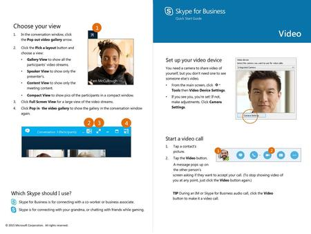 Microsoft Skype for Business on Mac Training - ppt download