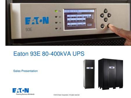 PowerScale 10-50kVA Ed Maximize your availability  - ppt