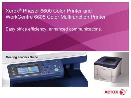 Factory Reset Xerox Altalink