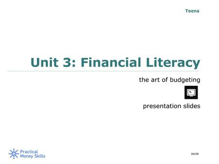 JA Finance Park – Middle and High School - ppt download