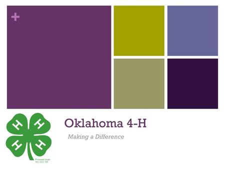 Oklahoma 4-H Youth Development Parent-Volunteer Training