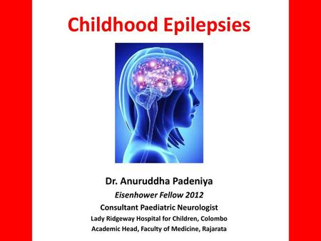 Neurology Chapter of IAP - ppt video online download