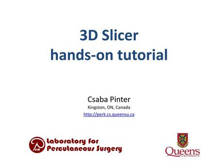 Integrating DICOM RT Import into Slicer 4 - ppt download