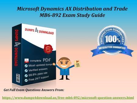 Download Microsoft MB6-896 Braindumps: Real Questions, PDF