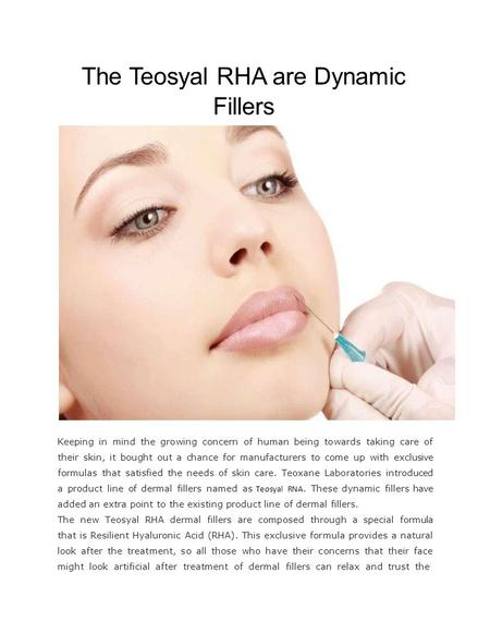 All You Need To Know About Revanesse Filler - ppt download