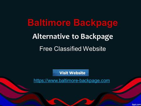 Backpage than sites better Backpage Alternative