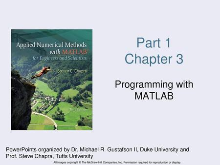 Programming with MATLAB - ppt video online download