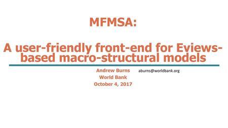 Byron Gangnes Econ 427 lecture 20 slides Econometric Models  - ppt