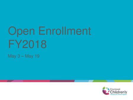 2019 Employee Benefits Open Enrollment - ppt download
