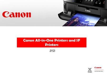 CANON Colour/Mono LASER All-in-One Printers/Printers - ppt download