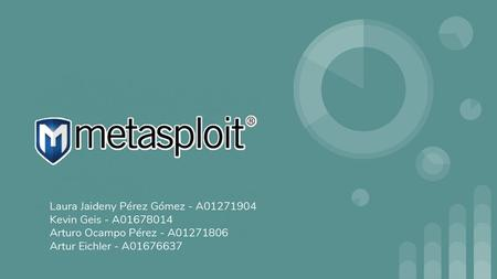 METASPLOIT  - ppt download
