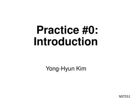 Practice #3: Electronic structure