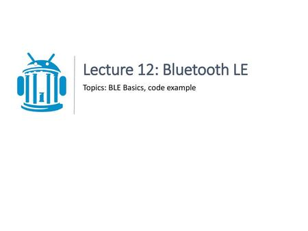 Bluetooth  - ppt download