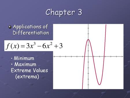 Section 3 1 Day 1 Extrema on an Interval - ppt download