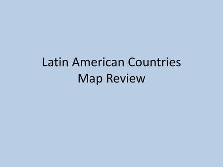 Spanish Speaking Countries - ppt video online download on