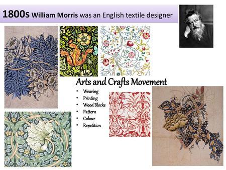 Design Movements Arts Crafts Art Nouveau Art Deco Bauhaus Modernism Ppt Video Online Download