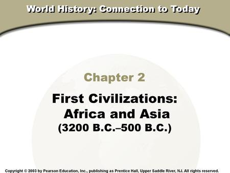 World History Connection To Today
