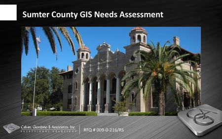 GIS CONSULTANT SERVICES · RFP# · JUNE 18, ppt download