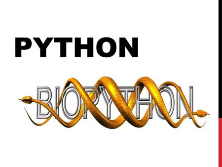 Introduction to Biopython - ppt download