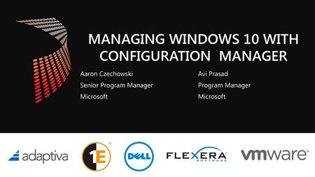 with Configuration Manager - ppt video online download