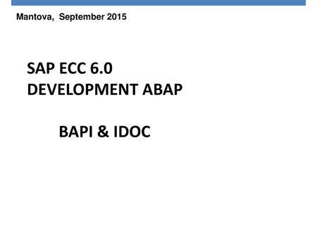 BAPIs 7-Bapis 1 This is PricewaterhouseCoopers PROPRIETARY
