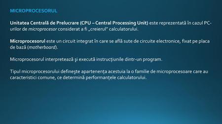 ce este puterea de procesare a biților utilizată pentru