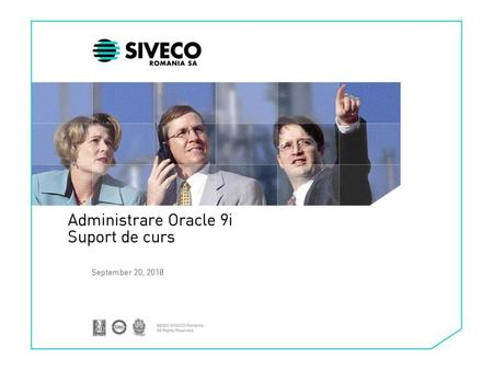 Administrare Oracle 9i Suport de curs