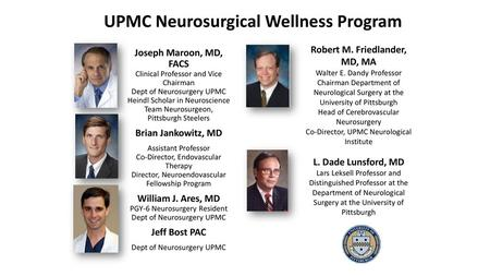 Richard C  Schneider, M D  Chief of Neurosurgery University of