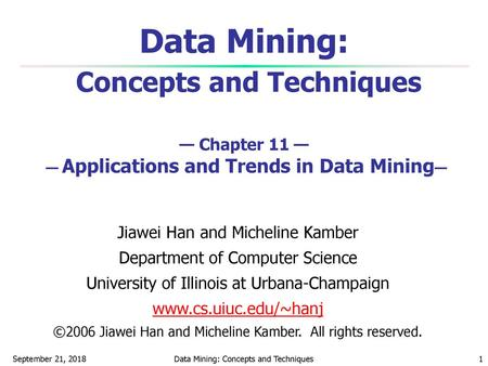 Data Mining: Applications - ppt video online download