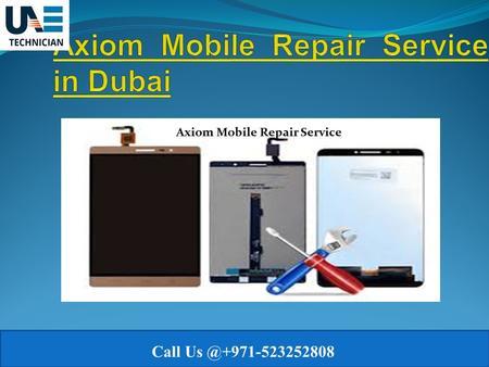 for Mobile Repair Service Dubai - ppt download