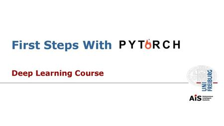 Lecture 1c: Caffe - Getting Started - ppt video online download