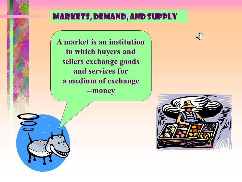 Exchange Of Goods And Services