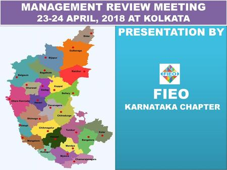 JAIPUR CHAPTER (FIEO-NR) - ppt download