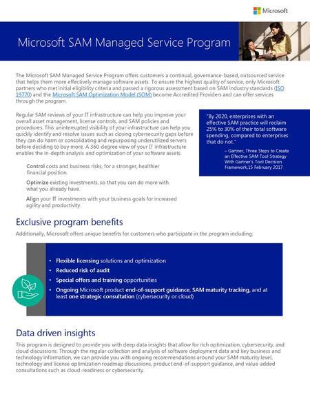 key benefits of software license management