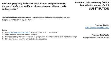 SOCIAL STUDIES Grade-Level Expectations and Textbook