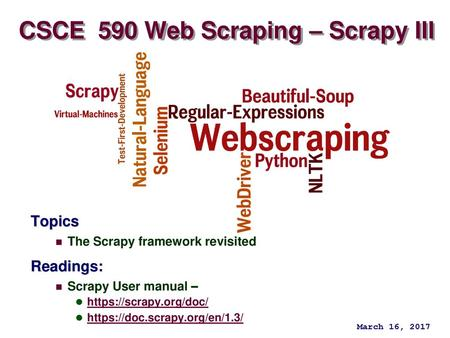 Basic Web Scraping with Python - ppt download