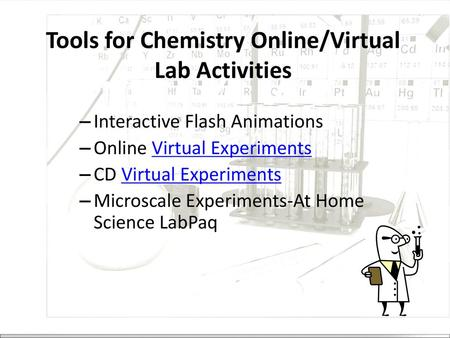 Online Science The Lab Component Ppt Video Online Download