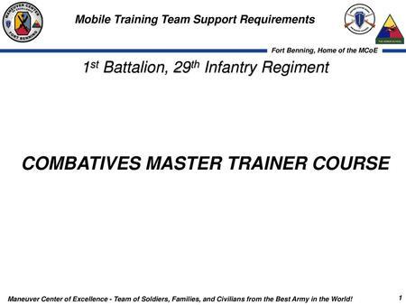 New Materiel Information Briefing Brigade Non Lethal