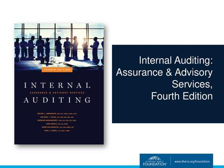 Internal Auditing Assurance Advisory Services Fourth Edition