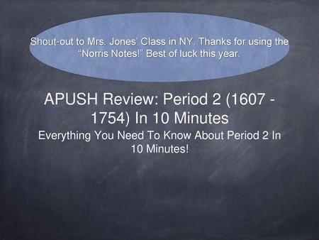 APUSH Review Key Concept Ppt Download