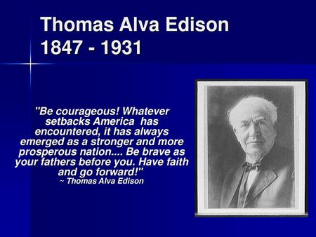Thesis statement of thomas edison free essays on social facilitation