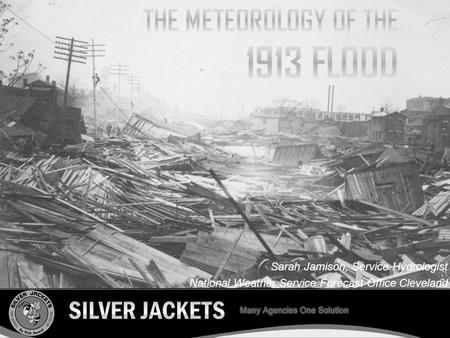 The meteorology of the 1913 flood