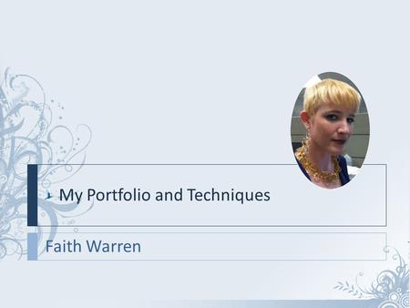 Faith Warren My Portfolio and Techniques. Progress Energy We designed and developed a cross-platform experience for Progress Energy that included a new.