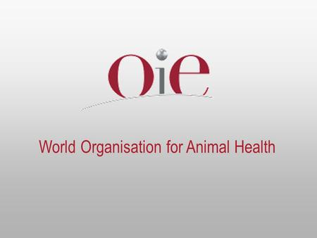 World Organisation for Animal Health. 2 «Prevention and control of avian influenza at the animal source » «Prevention and control of avian influenza at.