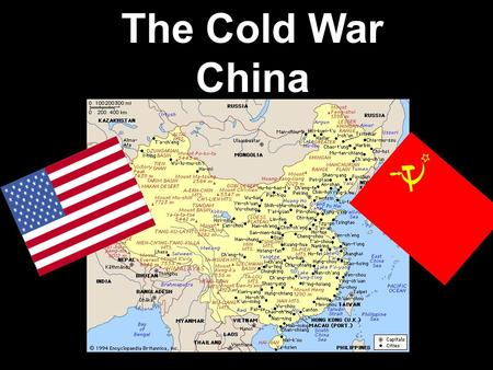 The Cold War China.
