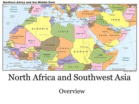 North Africa and Southwest Asia Physical Geography. - ppt download