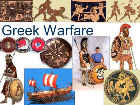 Greek Warfare. Review Early People of the Aegean Early People of the Aegean On the island of Crete, the Minoans built a brilliant civilization based on.