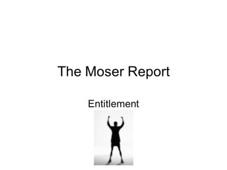 The Moser Report Entitlement. With thanks to Lewisham College Initial Assessment/Advice and Guidance Free confidential assessment of basic skills for.
