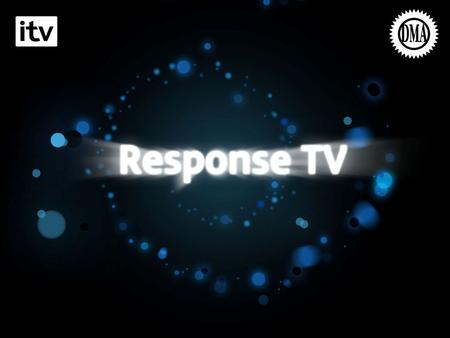 Landing Slide. TV Builds Brands But Does It Drive Response?